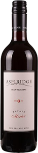 ASH RIDGE ESTATE MERLOT 2018