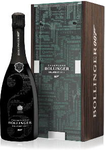 BOLLINGER 007 LIMITED EDITION MILLESIME 2011