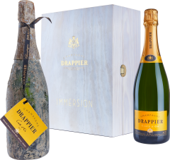 CHAMPAGNE DRAPPIER 'LE COFFRET IMMERSION' NV