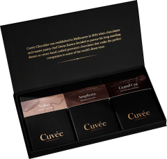Cuvee Wine Chocolate Collection 1 210g