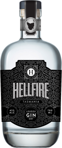 HELLFIRE TASMANIAN 'LONDON DRY GIN' 700ML