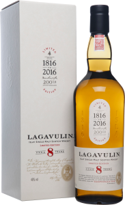 LAGAVULIN 8YO SINGLE MALT (2OOTH)