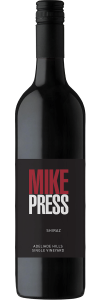 Mike Press 'Single Vineyard' Shiraz 2017