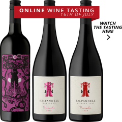 ONLINE TASTING PACK - SC PANNELL TASTING WITH WINEMAKER STEVE PANNELL