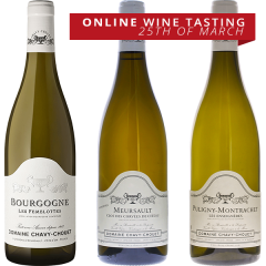 ONLINE TASTING PACK - DOMAINE CHAVY CHOUET OF BOURGOGNE THURSDAY 25TH MARCH 6:30PM AEDT