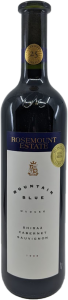 ROSEMOUNT ESTATE MOUNTAIN BLUE SHIRAZ CABERNET 1998