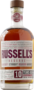 RUSSELL'S RESERVE SMALL BATCH 10 YR KENTUCKY STRAIGHT BOURBON WHISKEY 750ml
