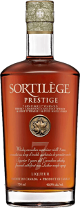 Sortilege Prestige 7 years old Canadian Maple Whisky (750ml)
