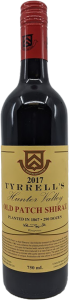 Tyrrell's 'Old Patch 1867' Shiraz 2017