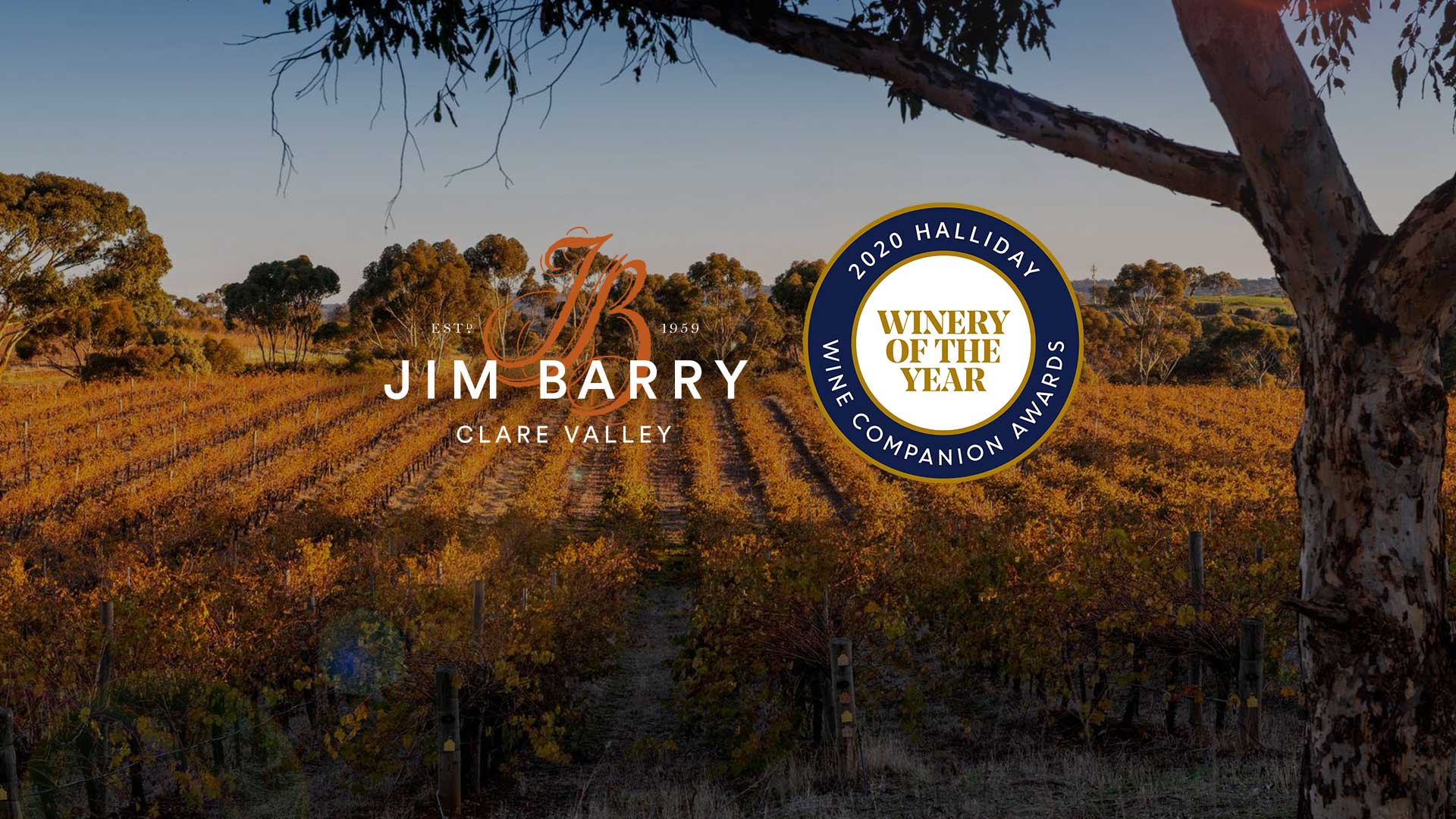 Jim Barry Winery of the Year!